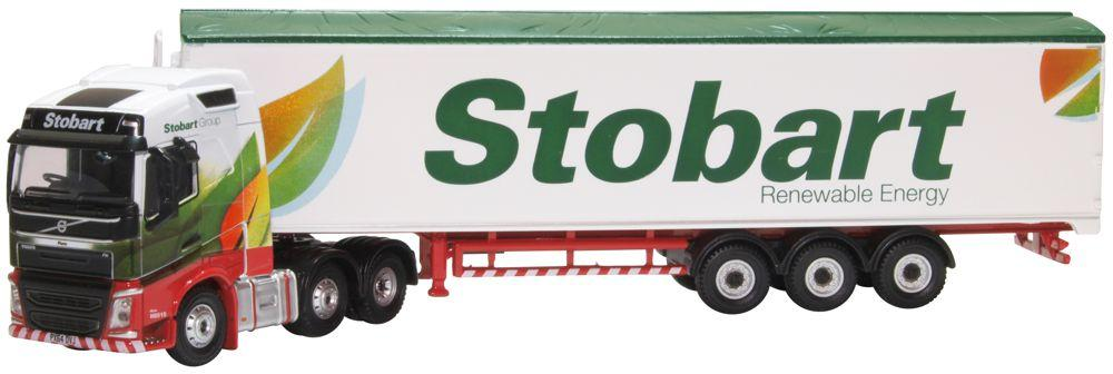 76VOL4010 Oxford Diecast Volvo FH Stobart Renewable Energy