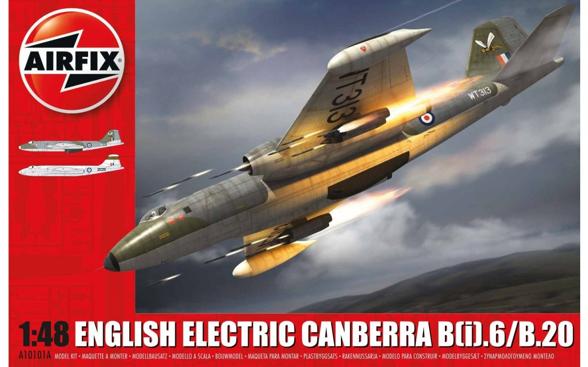 A10101B Airfix English Electric Canberra B(I)6 WT309