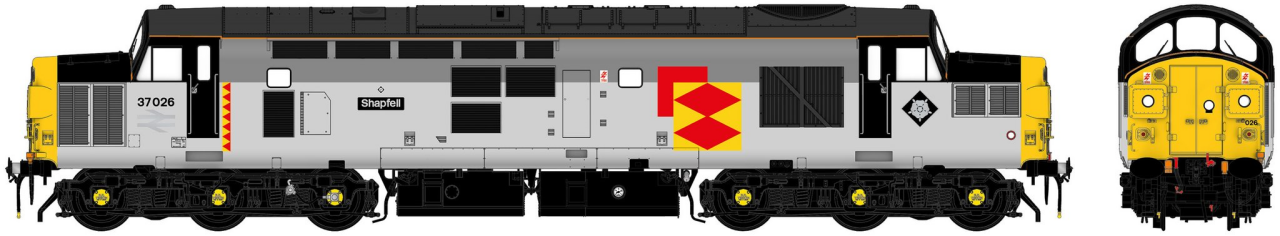 "ACC231037026 Accurascale Class 37/0 Diesel Locomotive number 37 026 ""Shapfell"" RfD"