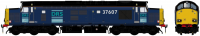 ACC231337607 Accurascale Class 37/6 Diesel Locomotive number 37 607 in DRS Original livery