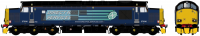 ACC231537606 Accurascale Class 37/6 Diesel Locomotive number 37 606 in DRS Compass livery