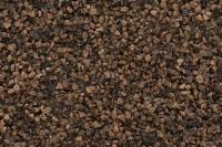 B85 Woodland Scenics Ballast, Coarse Dark Brown, 18 cu. in.