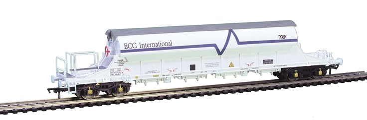E87029 EFE Rail PBA TIGER China Clay Wagon number TRL 11630