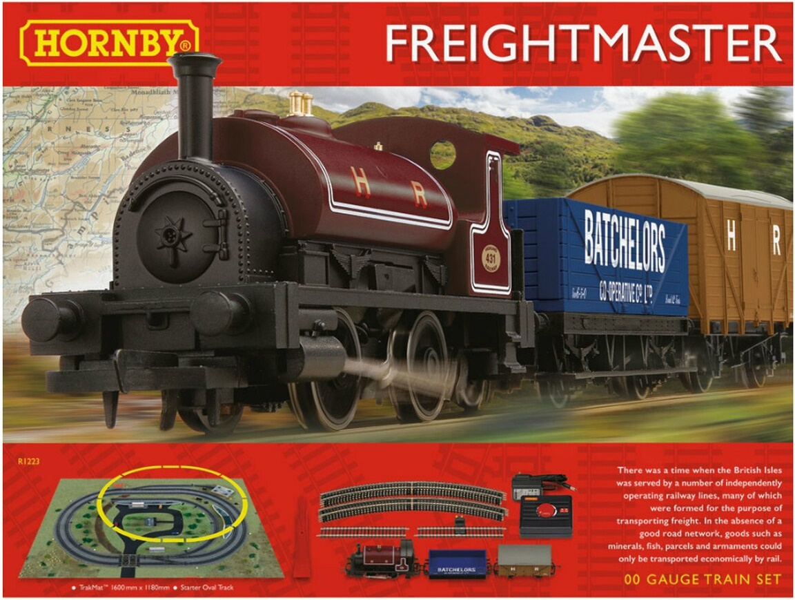 R1223 Hornby Freightmaster Train Set Image