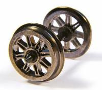 36-028 Bachmann Metal Split Spoked Wagon Wheels