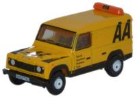 NDEF009 Oxford Diecast Land Rover Defender LWB Hard Top AA