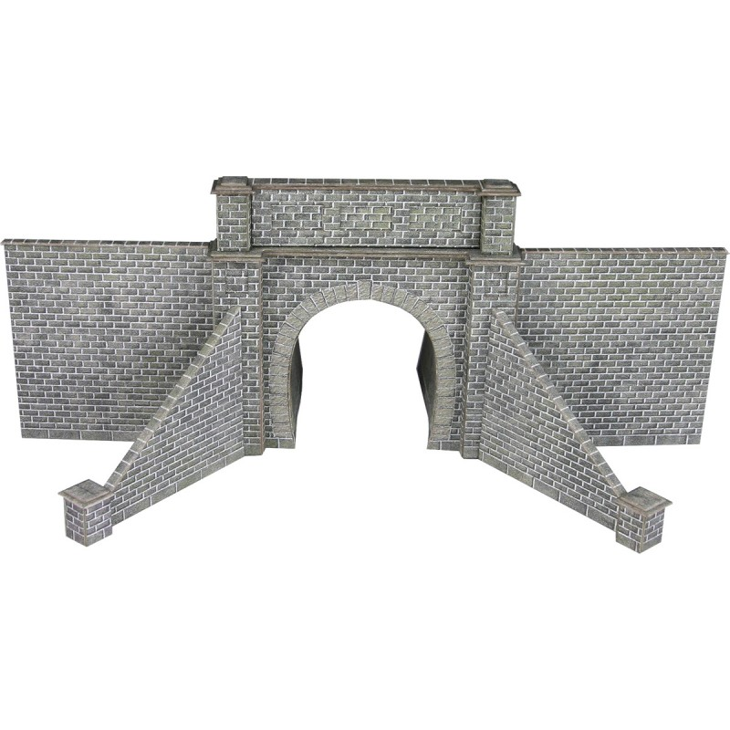 PN143 Metcalfe Single Track Tunnel Mouth kit - stone