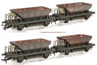 K4102 Heljan Dogfish Exclusive Pack of 4 - BR Olive Green weathered