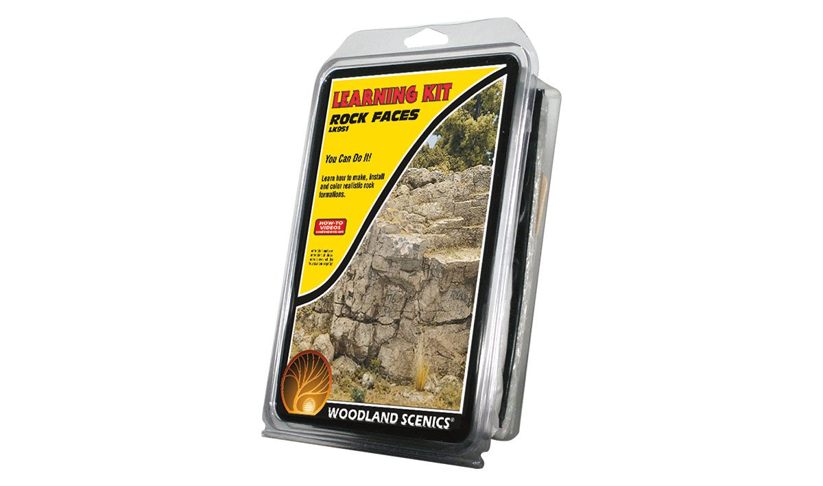 LK951 Woodland Scenics Rock Faces Learning Kit