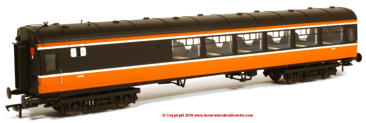 MM1509 Murphy Models Cravens Buffet Coach number 1509TL in Irish Rail livery