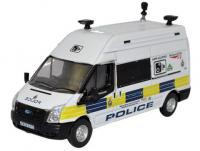76FT026 Oxford Diecast Ford Transit Long Wheelbase Van High Roof - Network Rail