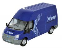 76FT028 Oxford Diecast Ford Transit Mk5 Long Wheelbase Van High Roof - Scotrail