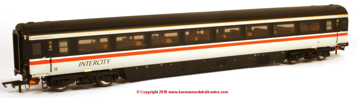 763TO002B Oxford Rail Mk3a Open Standard Coach number 12015 in Intercity Swallow livery