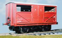 PS106 Parkside Dundas LNER Cattle Truck - vacuum brake fitted