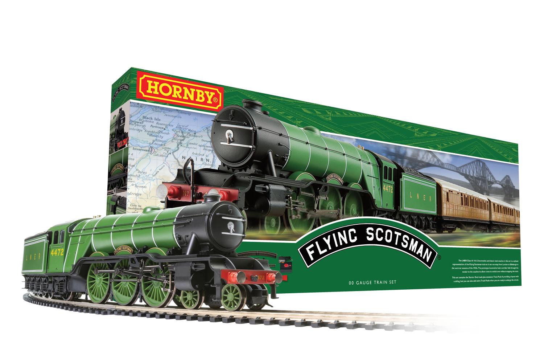 R1255M Hornby Flying Scotsman Train Set Image