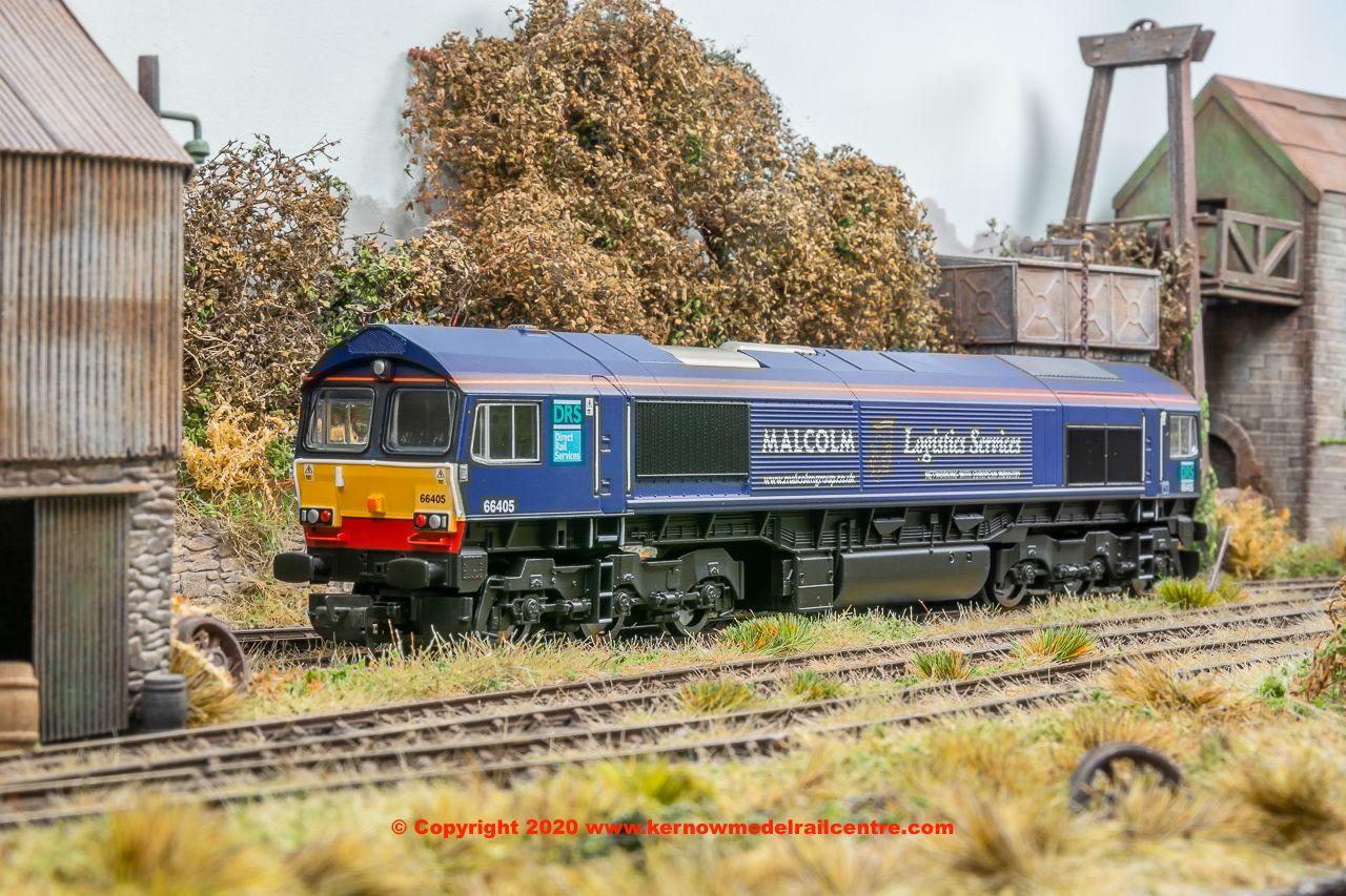 R3886PACK Hornby R3886 Hornby Class 66 Diesel + R8121TTS image