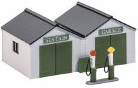 SS12 Wills Station  Garage with Pumps