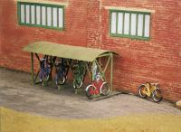 SS23 Wills Bicycle Shed with Bicycles