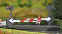 LCN10P Train Tech Level Crossing Barrier Set with Light & Sound Pair