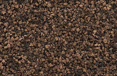 B71 Woodland Scenics Ballast, Fine Dark Brown 18 cu. in.