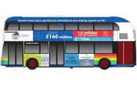 CC89204 Corgi NHS Charities Together Bus