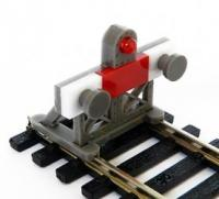 BF-HO-05 Proses 2 X 1:87 Scale Laser-Cut Buffer Stop Kit w/Light