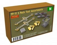 PP-11 Proses 5 Pack Tool Assortments for N