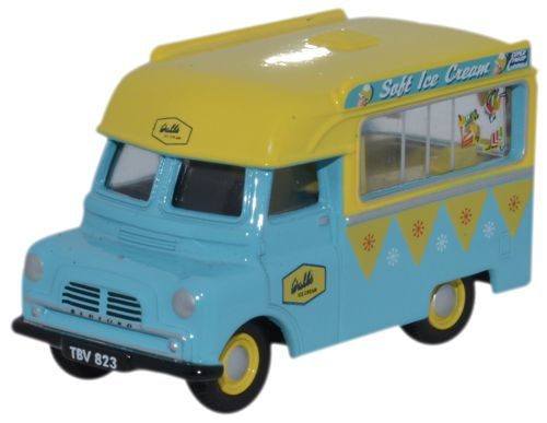 76CA002 Oxford Diecast Bedford CA Ice Cream Walls