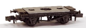 NR-121D Peco 10ft Wheelbase Chassis Kit - Steel-type with disc wheels