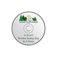TCD-015 Taliesin A CD Of A Wooden Sailing Ship In A Storm