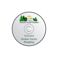 TCD-054 Taliesin A CD Of Modern Tractor Ploughing