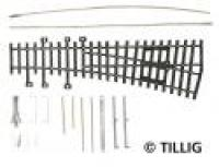 82410 Tillig HO Model Track - Curved Point Kit Left