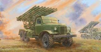 PKTM01075 Trumpeter Soviet 2B7R Multiple Rocket Launcher BM-13 NM.
