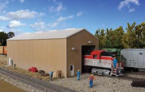 933-2985 Cornerstone Modern Single Track Engine House Kit image