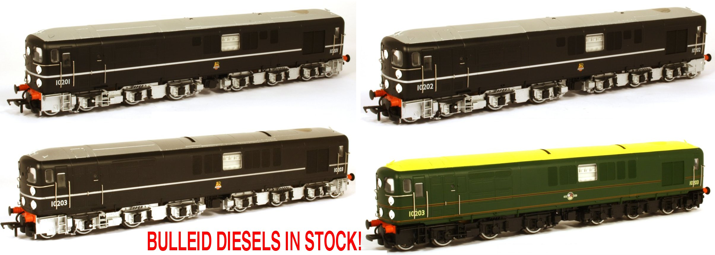 Bulleid Exclusive Models Image