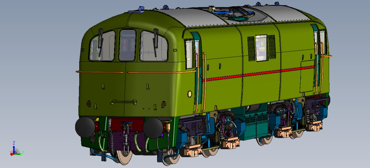 Class 71 CAD Image