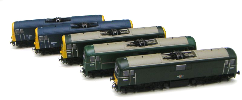 Class 71 Painted Samples image