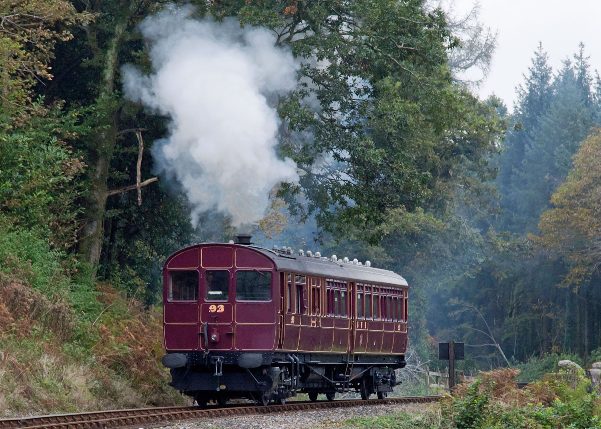 GWR Railmotor Bodmin Mike Webber Copyright Image