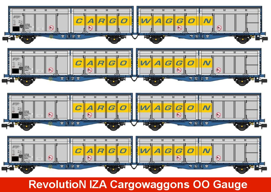 IZA Revolution Trains Image
