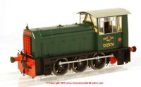2500 Heljan Class 05 Diesel Shunter number D2574 in BR Green livery