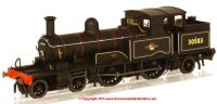 76AR001 Oxford Diecast Adams Radial Steam Locomotive number 30583 in BR Black livery with late crest
