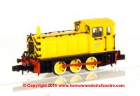 "371-054 Graham Farish Class 04 Diesel Shunter number D2332 named ""Lloyd"" in NCB Yellow livery"