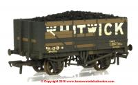 37-092 Bachmann 7 Plank End Door Wagon Whitwick Weathered