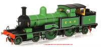 76AR005XS Oxford Rail Adams Radial Steam Locomotive number 5 in East Kent Railway Green livery