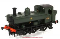 1320 Heljan 1366 Steam Locomotive number 1366 in GWR Green livery with Shirtbutton emblem