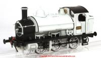 1300 Heljan 1361 Steam Locomotive number 1361 in Works Photographic Grey livery