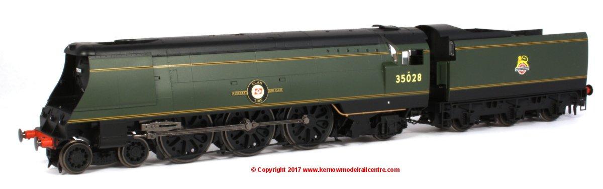 R3436 Hornby Clan Line Steam Loco Image