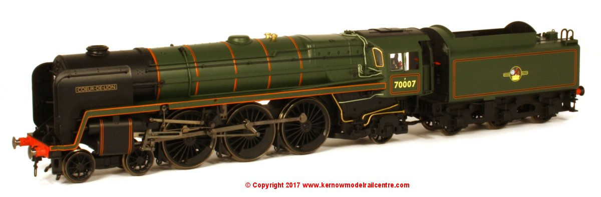 R3520 Hornby Britannia Steam Loco Image