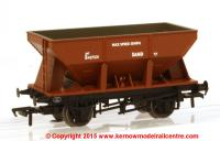 37-507 Bachmann 24 Ton Ore Hopper Wagon number B437221 in BR Bauxite livery with SAND branding