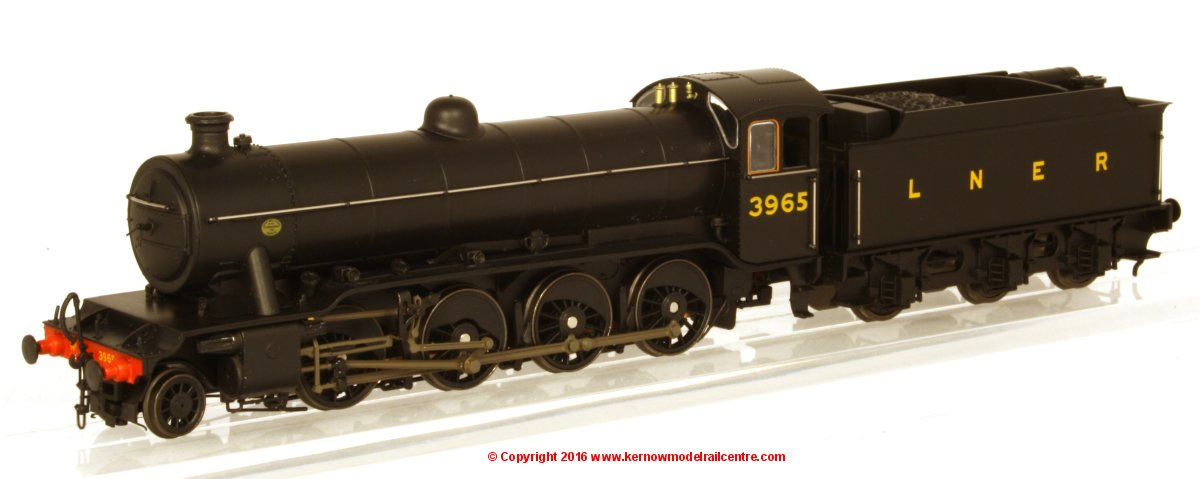 3910 Heljan Tango O2 Steam Locomotive number 3965 in LNER livery Image